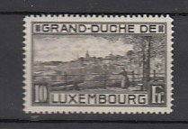 J25801  jlstamps 1923 luxembourg mh #152a view perf 12 1/2