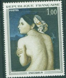 France  Scott 1174 MNH** Nude Bather by Ingres