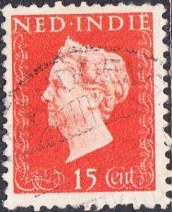 Netherlands Indies #281  Used