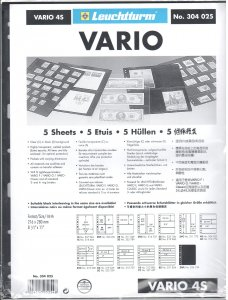 Lighthouse Vario 4S Stock Pages #304025 Ret $5.85