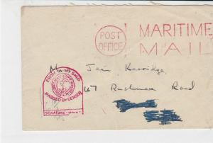 british maritime censor ships post stamps cover ref 18735