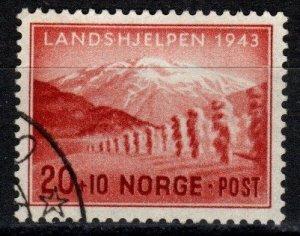 Norway #B33 F-VF Used  CV $5.00 (Z9769)
