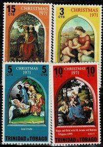 Trinidad and Tobago  1971 Christmas  MH