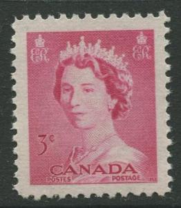 STAMP STATION PERTH Canada #327 QEII Definitive Issue 1953 MNH  CV$0.25