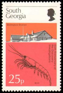 SOUTH GEORGIA #44-47 COMPLETE SET MINT NEVER HINGED