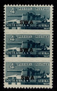 SOUTH WEST AFRICA GVI SG129, 4d slate-green, M MINT.