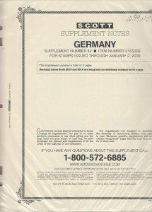 Scott Germany Supplement #42 2009
