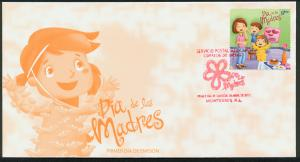 MEXICO 2779, Cacheted FDC Mother's Day.