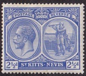 St. Kitts-Nevis #28 Mint