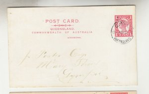 QUEENSLAND, Postal Card 1912 1d. Red, Gympie, local.
