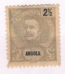 Angola 38 Unused King Carlos 1898 (A0416)