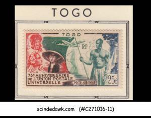 TOGO - 1949 75th ANNIVERSARY of UPU - 1V - MINT HINGED