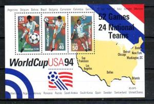 #2837 World Cup Soccer Souvenir Sheet