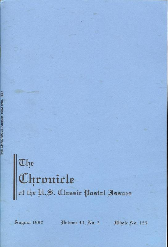 The Chronicle of the U.S. Classic Issues, Chronicle No. 155
