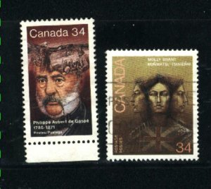 Can #1090-91   -1   used VF 1986 PD