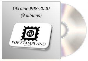 Ukraine 1918-2020 (9 albums) PDF STAMP ALBUM PAGES