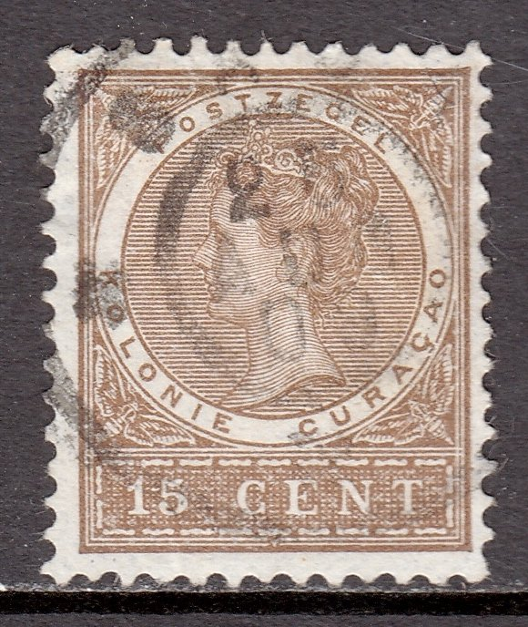 Netherlands Antilles - Scott #38 - Used - Small thin - SCV $10.00