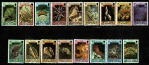 VIRGIN ISLANDS #364-80 1979-80 1/2c TO $5 COMMERMOTIVE ISSUES-MINT-OG/NH-VF