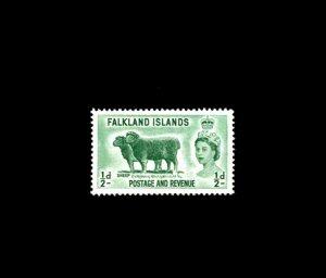 FALKLAND IS - 1957 - QE II - SHEEP - # 122 - SCAN 2 - MINT MNH SINGLE!