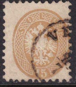 Austria Lombardi - Venetia 1864-1865 SC 24 Used