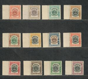 Labuan Sc#99a-109 M/NH/VF, Complete Set With Tabs, Cv. $98.50