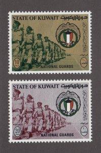 Kuwait Scott #519-520 MH