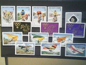 Romania  MNH  nice lot of stamps
