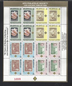 2703-2706 APO Philatelic Society CV$8