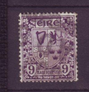 J20715 Jlstamps 1922-3 ireland used #74 arms wmk 44