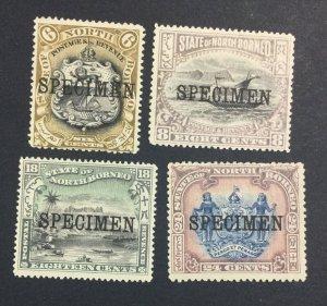 MOMEN: NORTH BORNEO SG # 1897 SPECIMEN MINT OG H £ LOT #6952