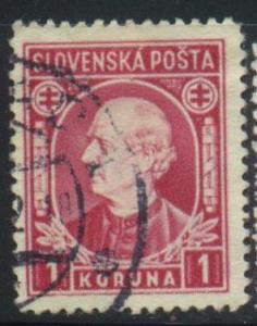 Slovakia Sct # 31 or 55; Used; pencil on back