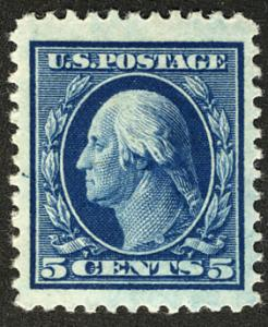 US  #504 XF JUMBO HUGE STAMP, mint  hinged,  we doubt you will find a larger ...