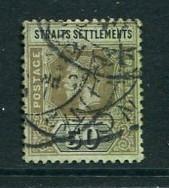 Straits Settlements #164c Used