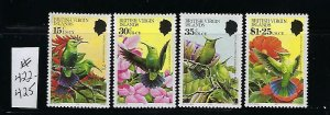 BRITISH VIRGIN IS. SCOTT #422-425  1982 BIRDS - MINT NEVER  HINGED