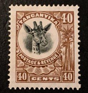 Tanganyika Scott 20 Giraffe Definitive 40 Cent-LH
