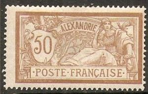 1902 Alexandria Scott 27 Liberty and Peace MH