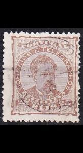 PORTUGAL [1882] MiNr 0056 xB ( O/used )
