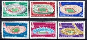 Romania 1979 Moscow Olympics Complete Mint MNH Set SC 2862-2867
