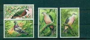Fiji - Sc# 919-22. 2001 Birds. MNH $7.25.