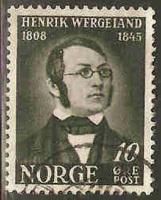 Norway Used Sc 269 - Henrik Wergeland