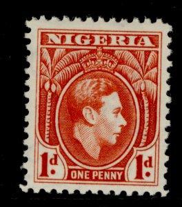 NIGERIA SG50, 1d carmine, LH MINT. Cat £19.