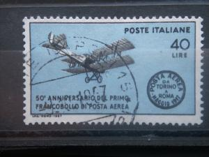 ITALIA, 1967, used 40l, airmail stamp, Italy, Scott 968