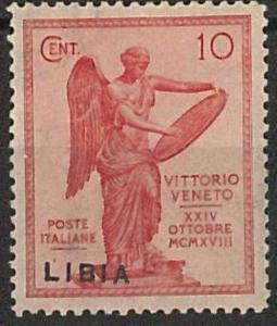 47686 - LIBIA  - VARIETA' - Sassone 35g LINGUELLATO  -  SOVRASTAMPA SPOSTATA