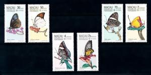 [94460] Macau 1985 Insects Butterflies Papillons Schmetterlingen  MNH