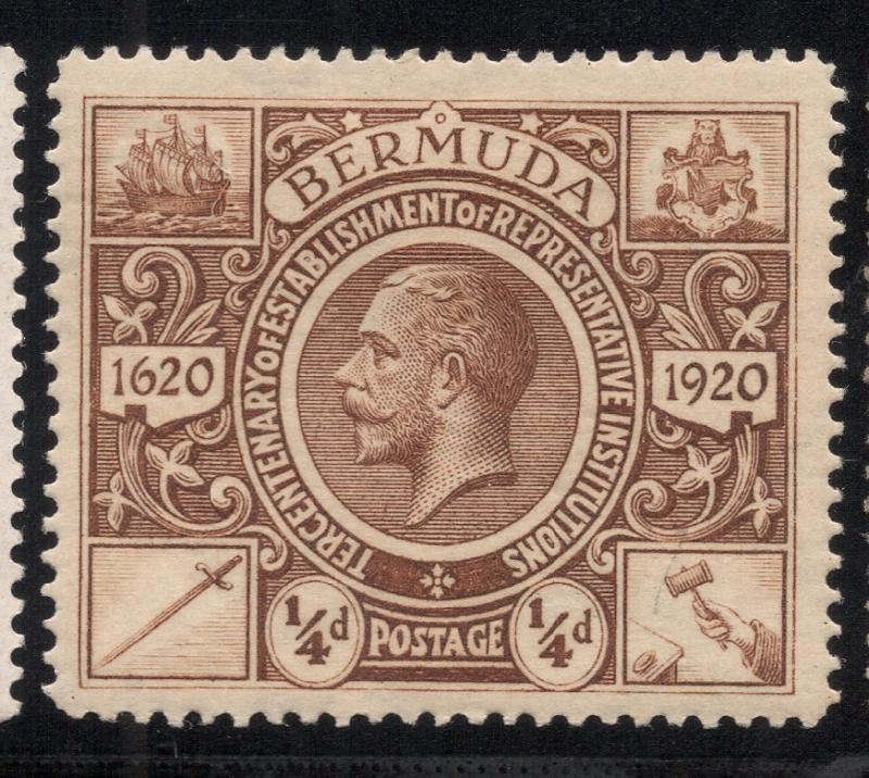 Bermuda #71 Brown - Unused - O.G.