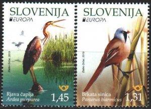Slovenia. 2019. Birds, Europe Sept. MNH.