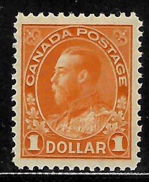Canada #122 Mint XF NH C$360.00