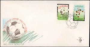 Aruba, Worldwide First Day Cover, Sports