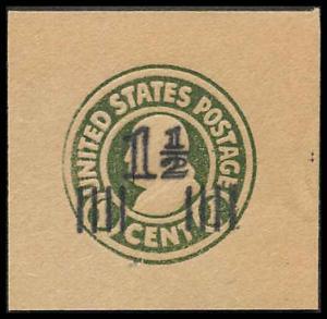 U519 Mint Full Corner Cut Square 41 x 40