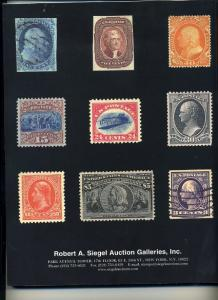 Siegel US Sale of the famous Ray Fox Collection.
